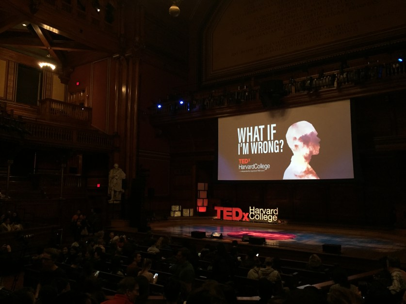 TEDxHarvardCollege Asks the Tough Question: What If I'm Wrong?