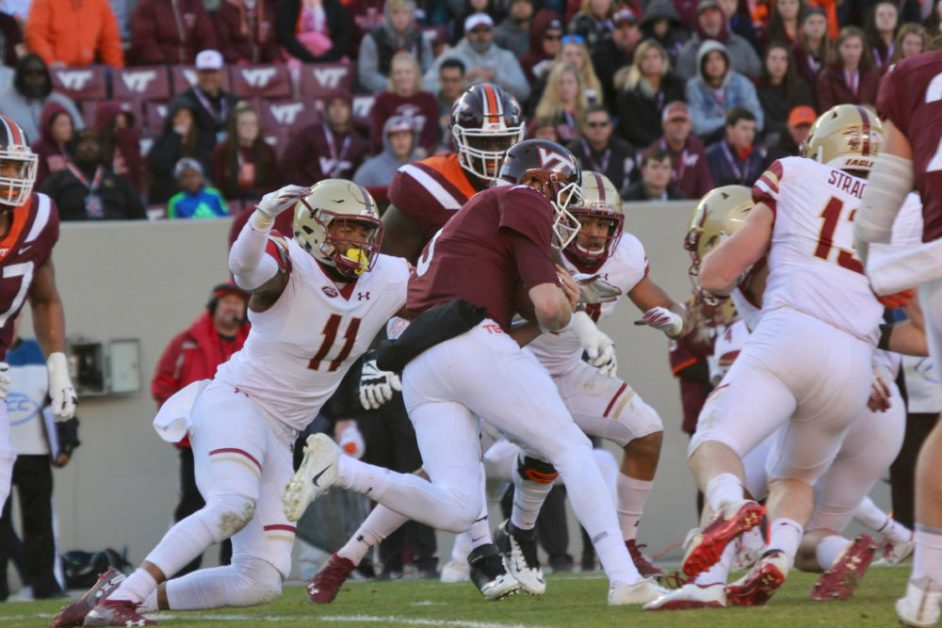 Notebook: Levy, Defense Step Up When it Matters Most at Virginia Tech