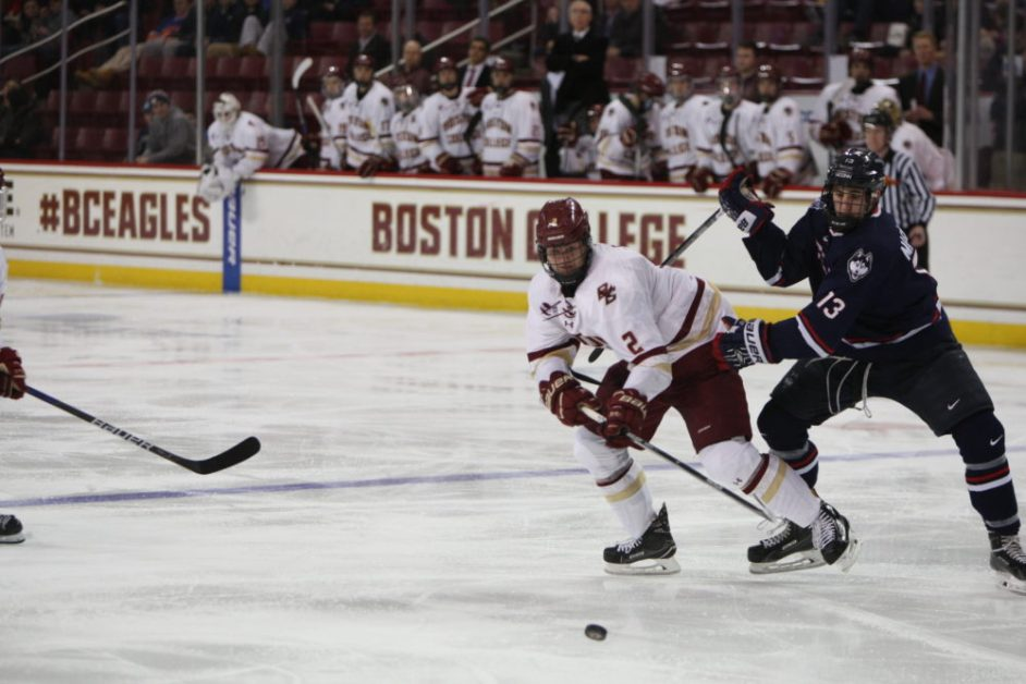 Three-Goal Spurt Paves Way for Sweep of Connecticut