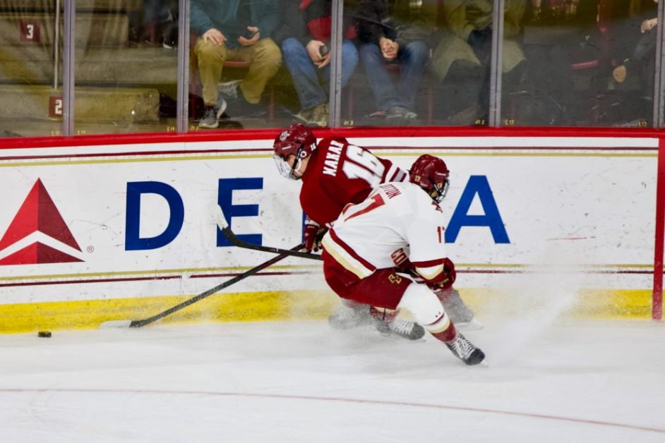 Notebook: Eagles Unable to Top No. 3 Massachusetts After Poor Second Period