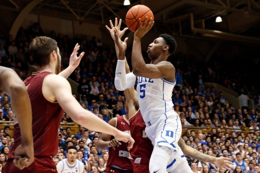 No. 2 Duke Pours It on in Second Half, Hands BC Third Straight Loss