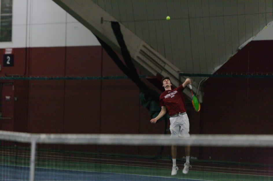 Men's Tennis Swept by Virginia Tech