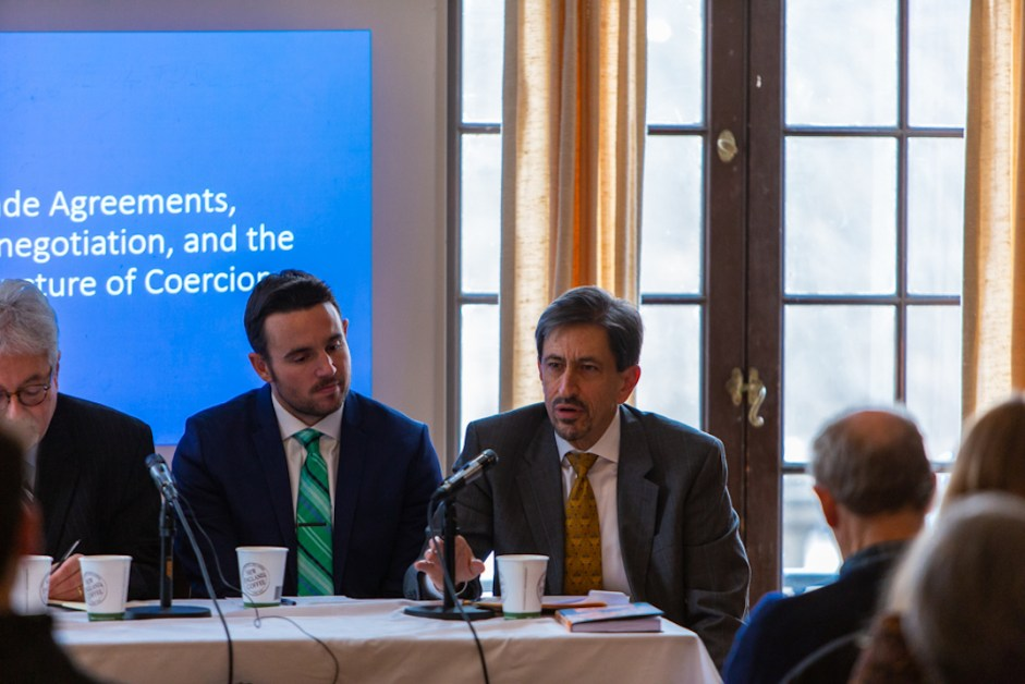 Garcia Discusses the Nature of Trade in a Globalized World