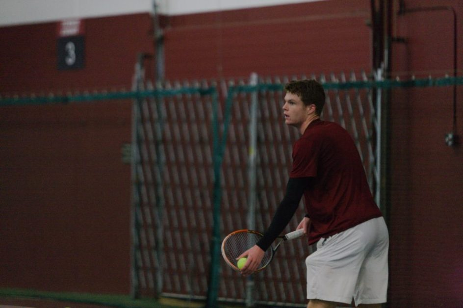 Men's Tennis Sandwiches Win Over Sacred Heart With Two ACC Losses