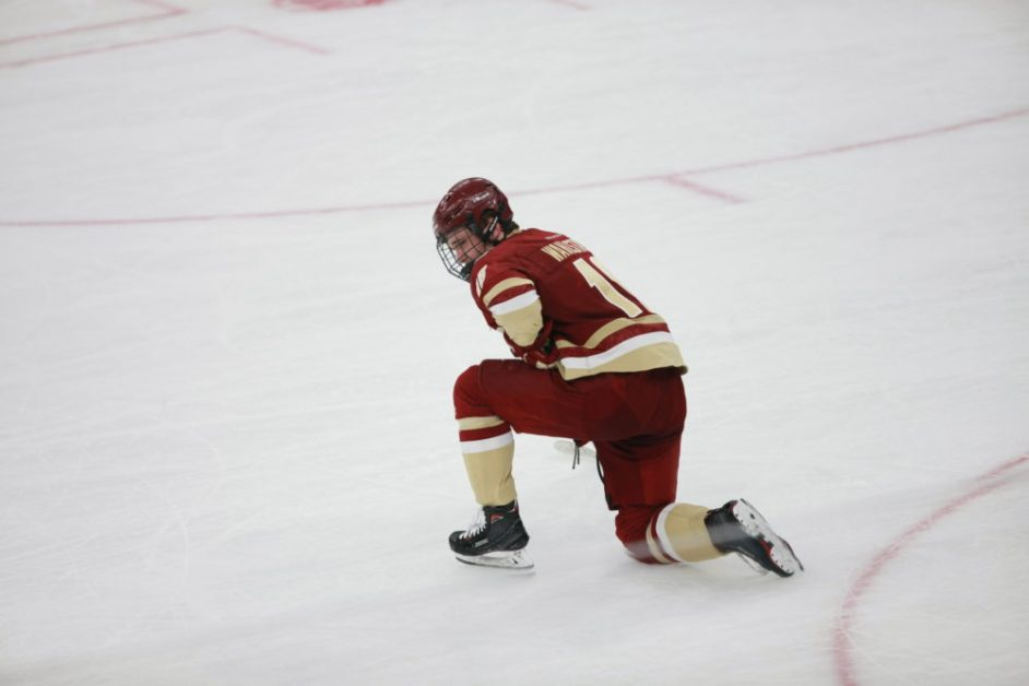 Eagles Fall in Hockey East Final, Come Up One Game Short of NCAA Tournament