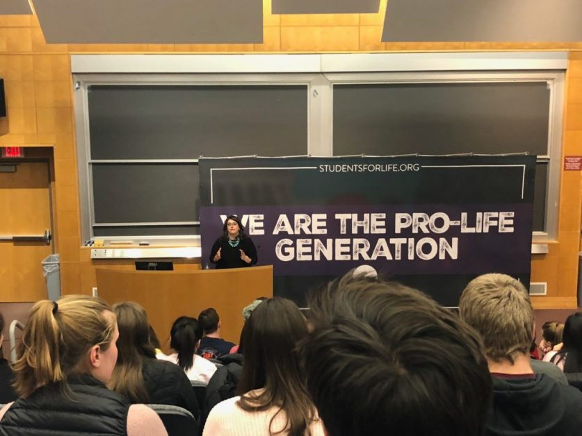 'Lies Feminists Tell' Event Sees Tensions Rise During Q&A Portion After Anti-Abortion Speech