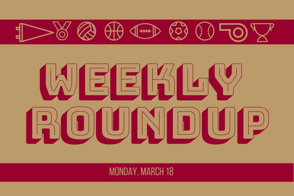 Weekly Roundup: Men's Hockey Stays Alive, Lacrosse Moves to 9-0