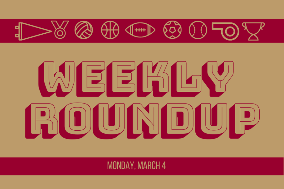 Weekly Roundup: Women's Hockey Moves to Hockey East Semifinals, Baseball Splits Four Games in Kentucky