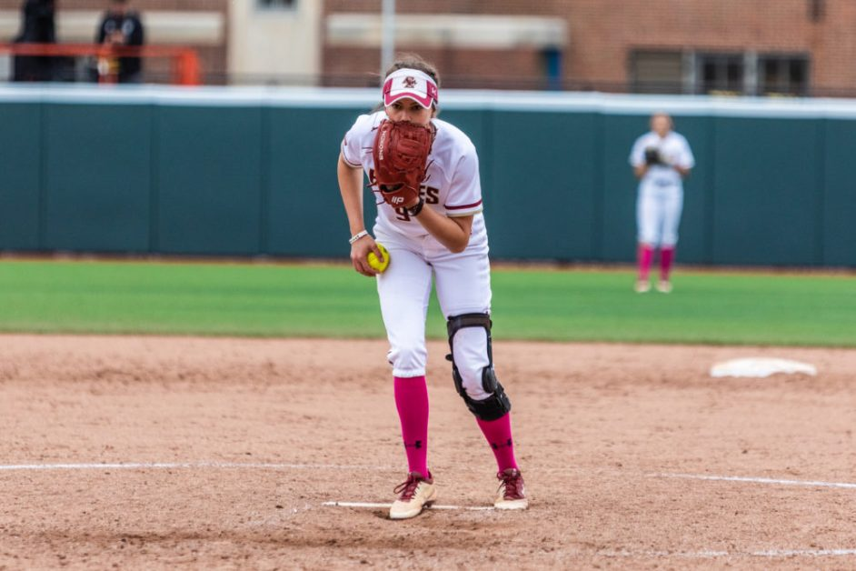 Eagles Pitching Struggles With Command in Blowout Loss to No. 24 Hokies