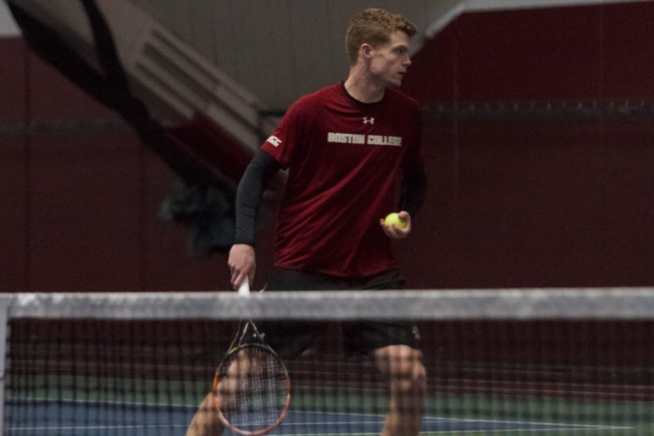 BC Splits Sunday Matches Against Georgia Tech and Bentley