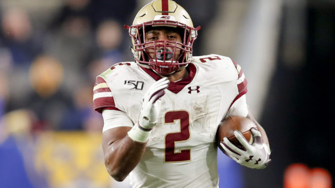 AJ Dillon Selected at No. 62 Overall in 2020 NFL Draft