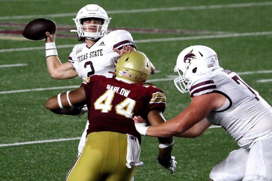 Notebook: Tackling Woes Plague Eagles in Near Loss to Texas State