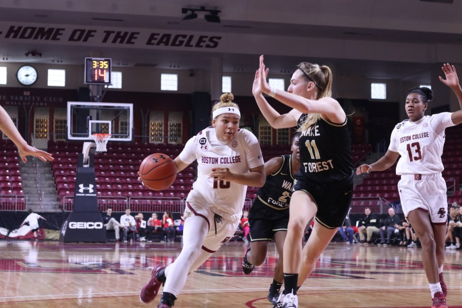 BC Falls to Wake Forest in 20-Point Loss