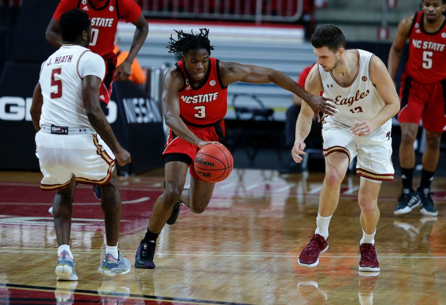 BC Looks Rusty, Drops Double-Digit Decision to NC State in First Game Back