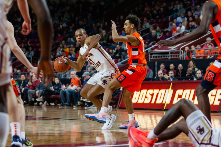 Eagles Drop Fourth-Straight Game in Loss to Syracuse