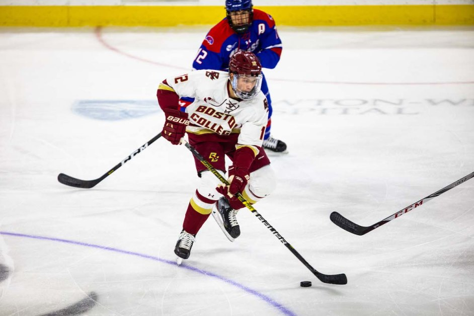 Notebook: BC Dominates UMass Lowell With Help of Sophomore Trio