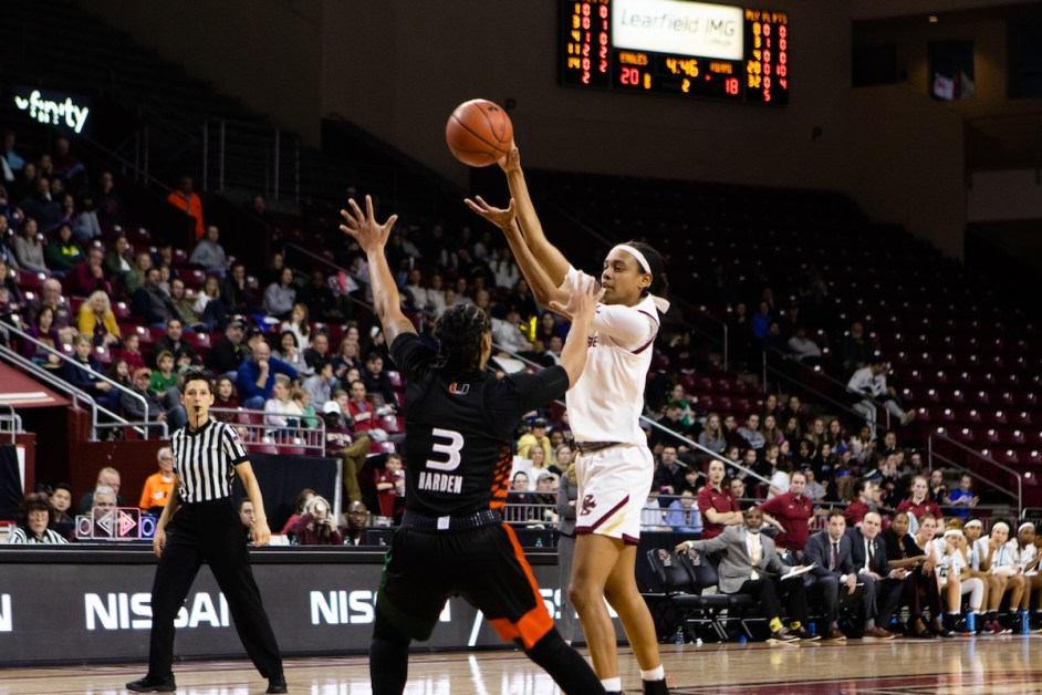 Miami Outscores BC 27-12 in Fourth For Comfortable Win