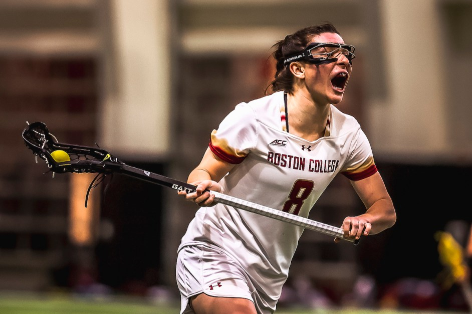 BC Lacrosse Unleashes Scoring Barrage in Season Opener Against Albany