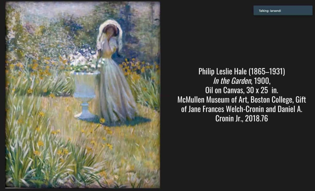McMullen Presentation Highlights New England Artists