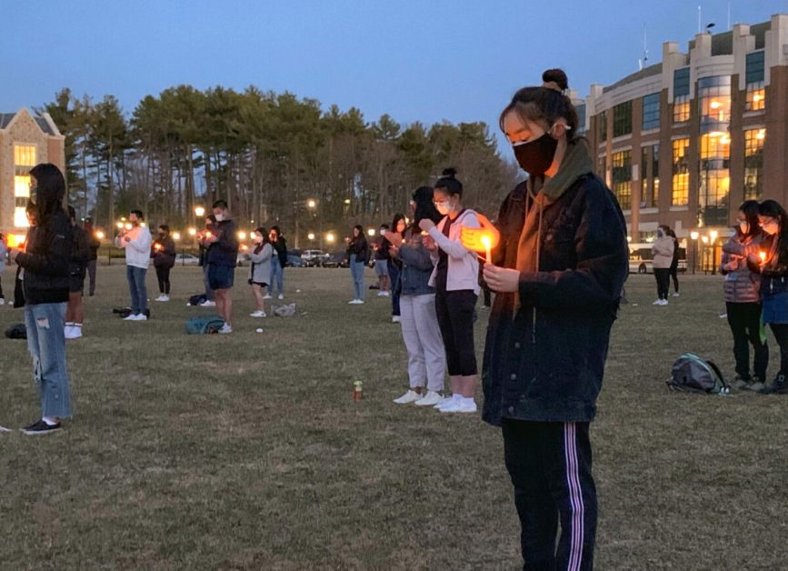 BC Community Honors Victims of Anti-Asian Violence With Candlelit Vigil