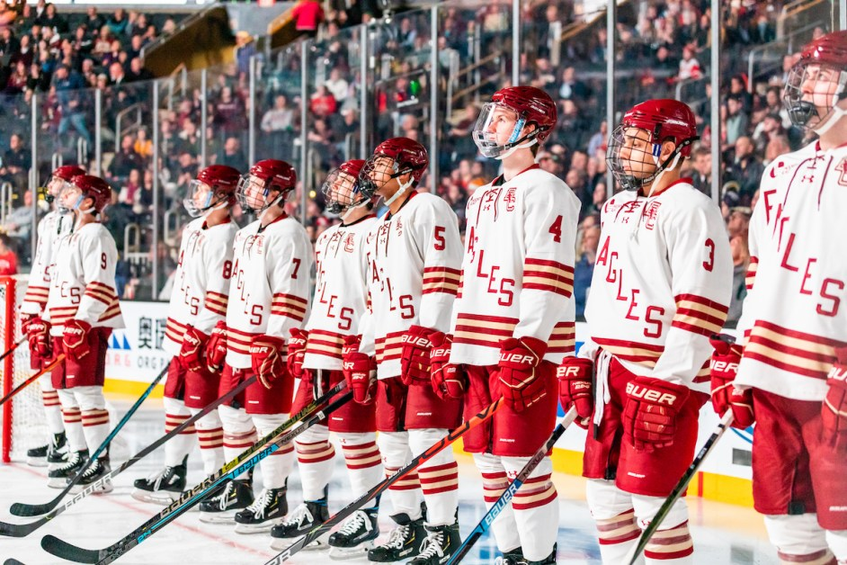 BC Hockey Adds Two Grad Transfers from Bowling Green State