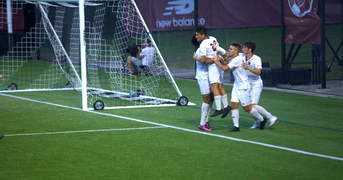Suski's Early Tally Lifts Eagles Over Hartford