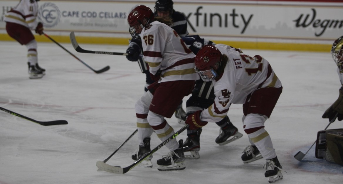 Eagles Stay Undefeated With Win Over UNH