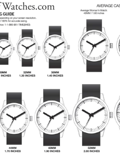 Watch sizing guide also worldofwatches rh helpofwatches