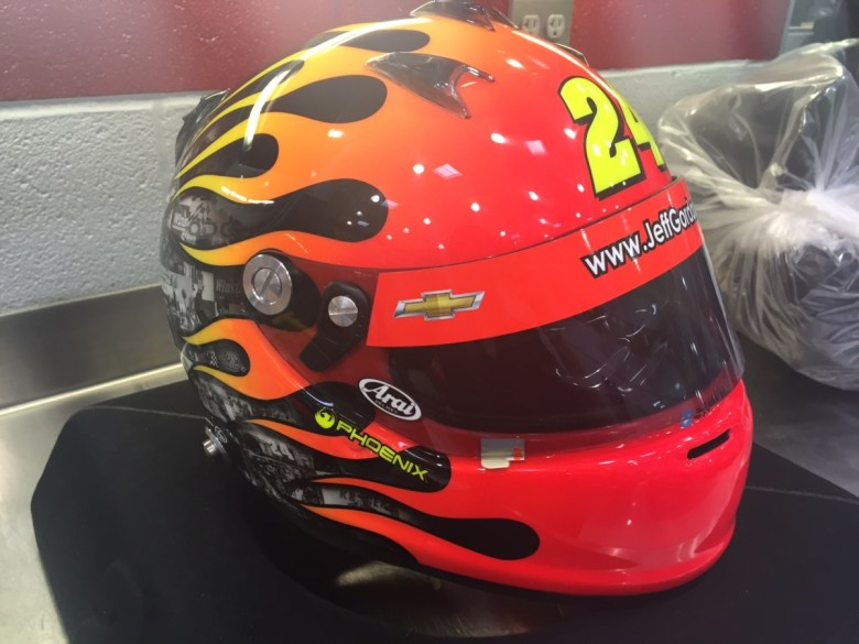 Exclusive look at Gordon's helmet for final race | Hendrick Motorsports