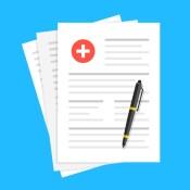 Medical forms illustration