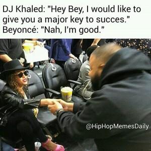 Beyonce-Kendrick-Jay-Z--DJ Khaled-Basketball-Game-Meme