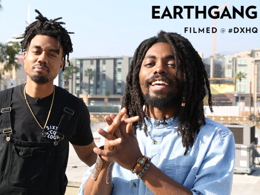 EarthGang Hollywood Freestyle HipHopDX