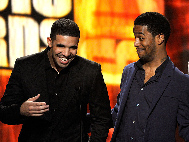 Image result for kid cudi and drake 2016