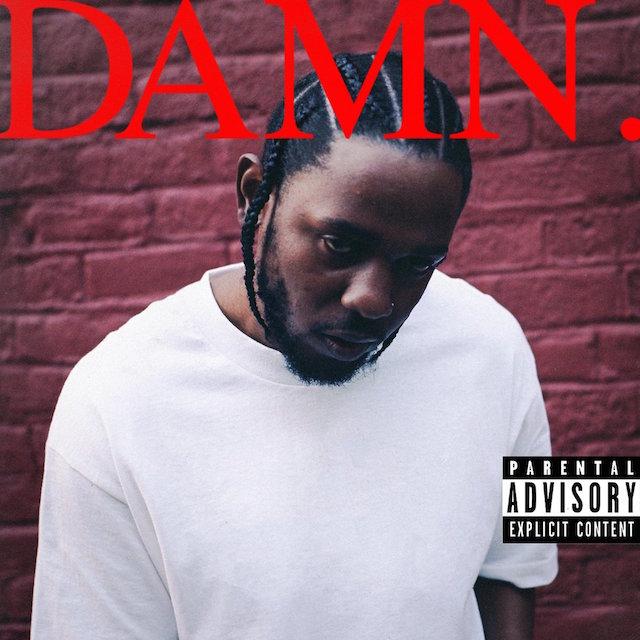 Kendrick Lamar DAMN album cover art