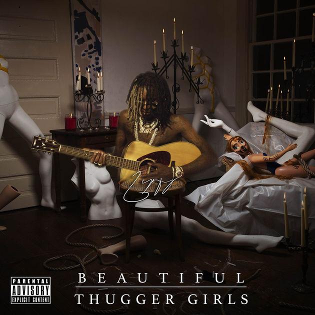 Young Thug Beautiful Thugger Girls album cover art