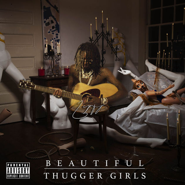 Young Thug Beautiful Thugger Girls album cover art