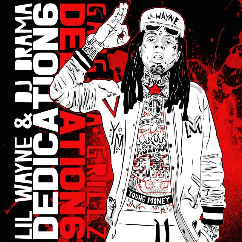 lil wayne d6 front cover