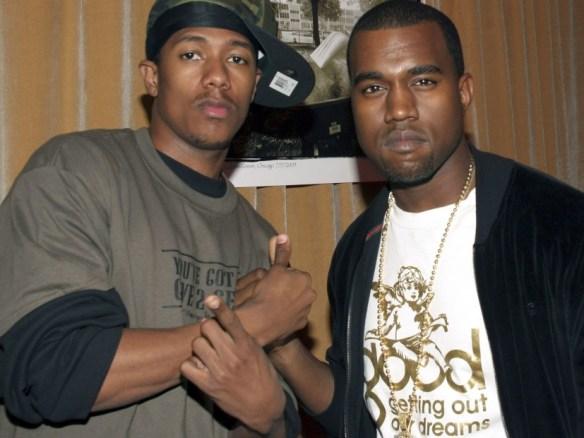 d1d8c2bb0bba Kanye West & Nick Cannon Squash E-Beef Over Kim Kardashian
