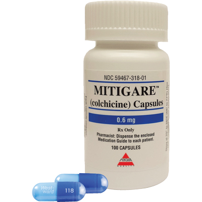 MITIGARE Dosage & Rx Info | Uses Side Effects
