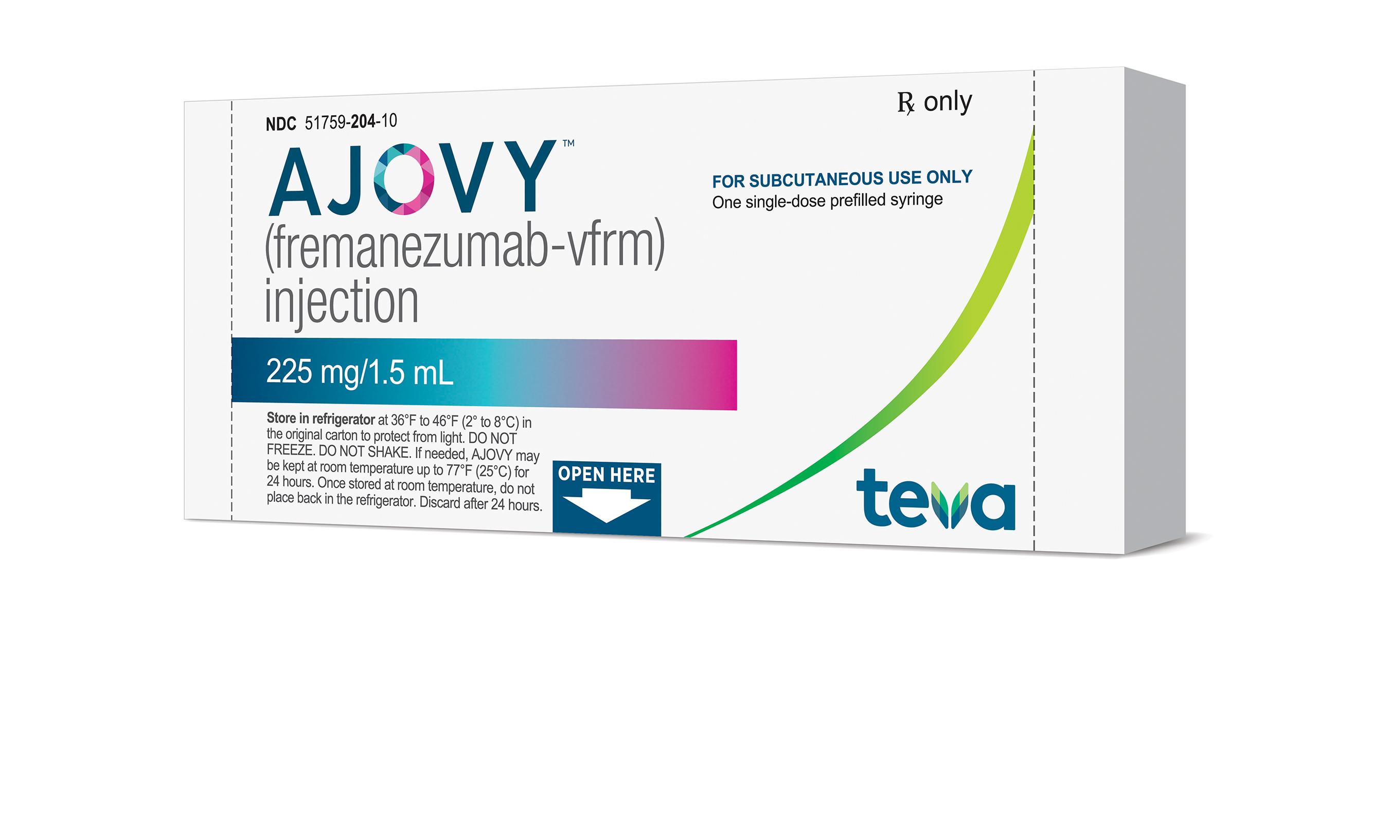 AJOVY Dosage & Rx Info | Uses Side Effects - MPR