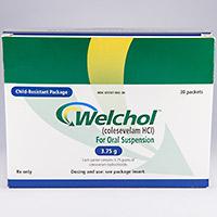 WELCHOL FOR ORAL SUSPENSION Dosage & Rx Info | Uses Side ...