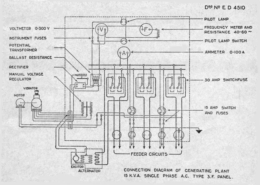 Lucas Generator Wiring Diagram