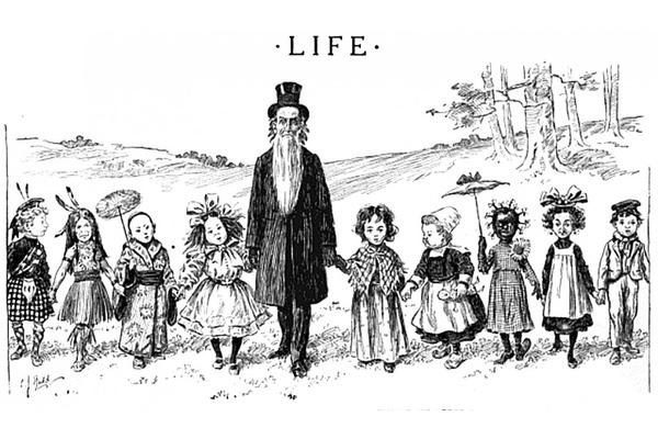 What A 19th Century Campaign To Declare Mormons 'Non-White