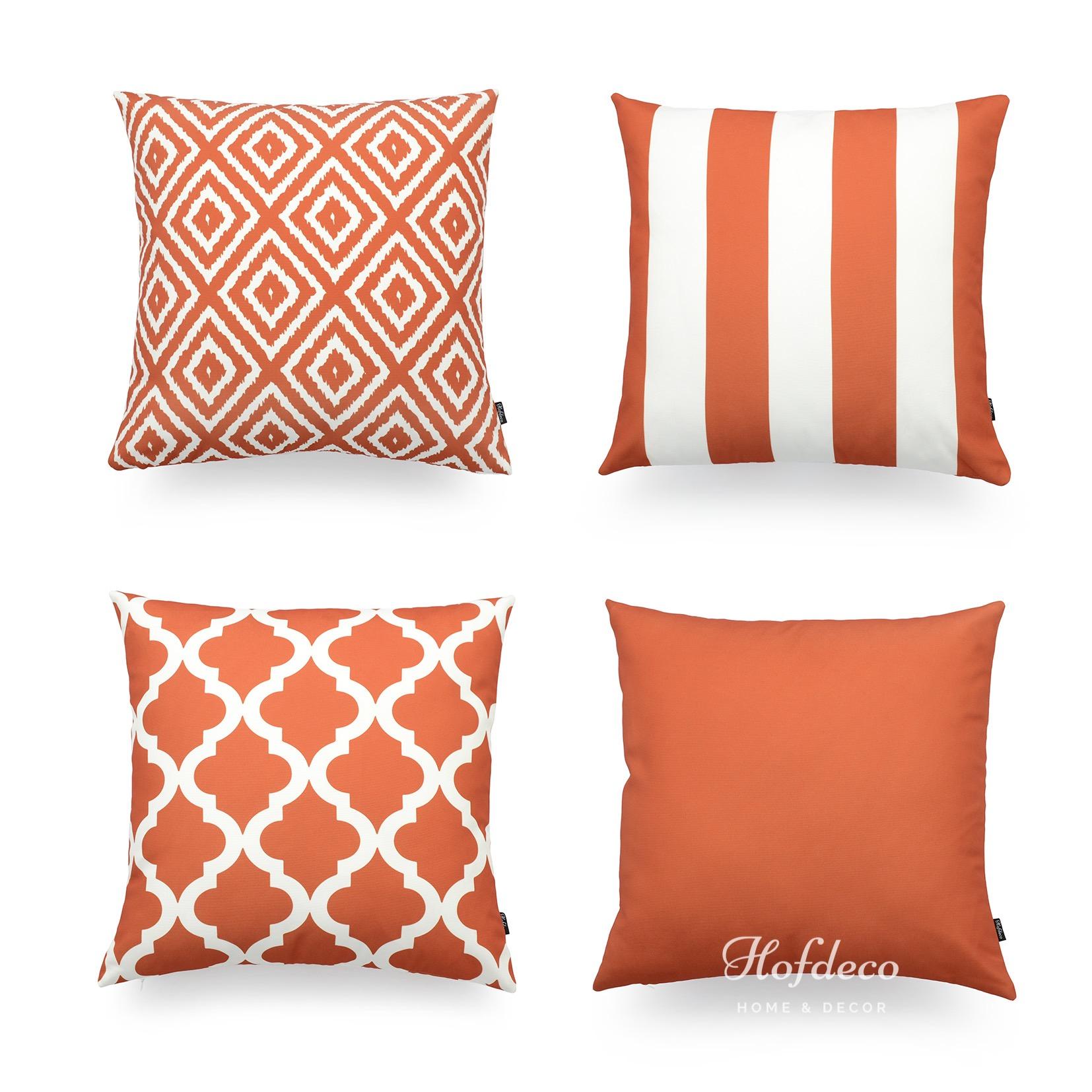 white company sofa throws french grey sofas hofdeco decorative cushion cover burnt orange geometric