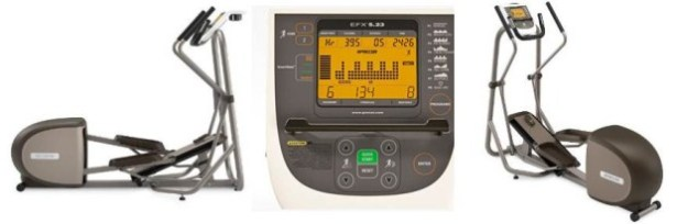 Precor EFX 5.23 Elliptical Fitness Crosstrainer | Precor 5.23