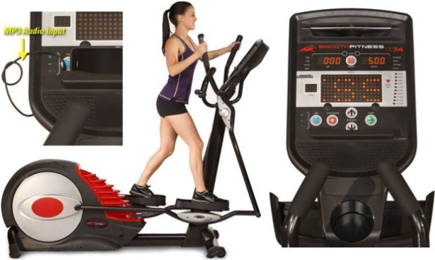 Smooth CE 7.4 Elliptical Trainer | Smooth Fitness CE 7.4