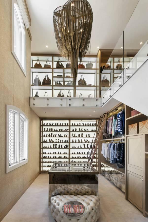 Luxury 2 Story Closet Designs