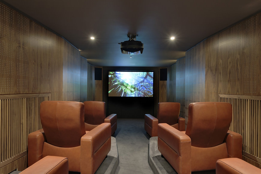 home theater leather sofa wayfair chairs 37 mind-blowing design ideas (pictures)