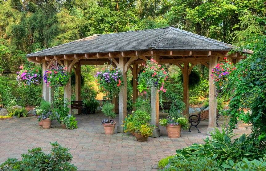 110 Gazebo Designs & Ideas Wood Vinyl Octagon Rectangle And More