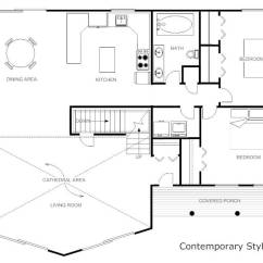 Living Room Plan Design Brown Couch Ideas 25 Best Online Home Interior Software Programs Free Paid Smartdraw